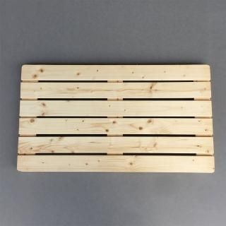 【沃克嚴選】松木實木踏板-原木色 80*45*4cm 單片