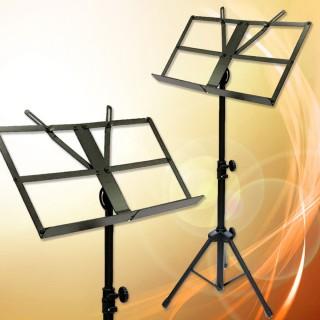 【美佳音樂】MS-330 大面板可折疊/加粗支架/台灣製造 高級指揮大譜架(贈收納袋)