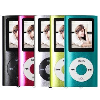 超薄4代炫彩1.8吋 MP3插卡式蘋果機