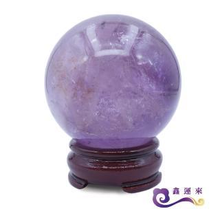 【鑫運來】有求必應智慧紫水晶球(7-8 cm)