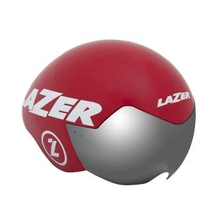 【LAZER】VICTOR三鐵/計時安全帽 紅