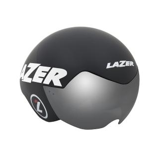 【LAZER】VICTOR三鐵/計時安全帽 消光黑