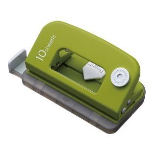 【CARL】DP-35  時尚雙孔打孔機(藤蔓綠)