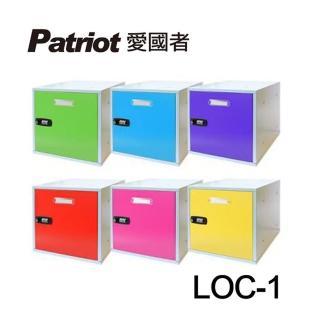 【愛國者】組合式置物櫃LOC-1(共六色)