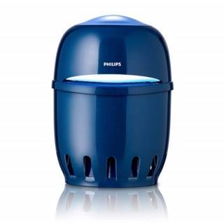 【Philips 飛利浦】吸入式系列 安心捕蚊燈-藍色(F600B)