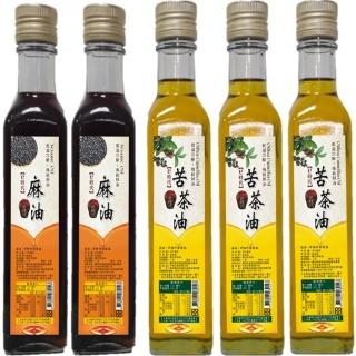 支持台灣小農冷壓初榨苦茶油暖心組