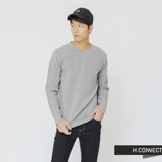 【H:CONNECT】韓國品牌 男裝 -立體感小口袋上衣(灰色)