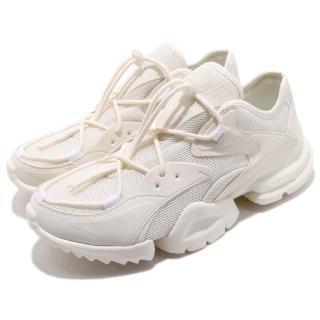 【REEBOK】慢跑鞋 RUN_R 96 低筒 運動 男鞋 輕量 明星款 免綁鞋帶 穿搭 透氣 米白 白(CN4602)