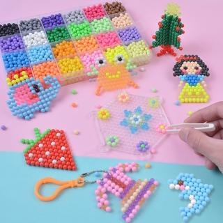 【JoyNa】兒童DIY神奇水霧魔法珠玩具 水魔豆(2盒入)