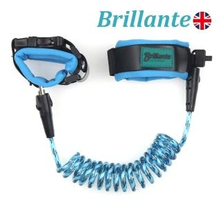 【Brillante】兒童防走失帶-水藍兩入組(推車防失控、防竊安全繩索)