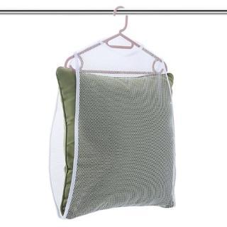 簡約日系枕頭晾曬網  2入 絨毛玩偶/坐墊/腰墊晾曬網