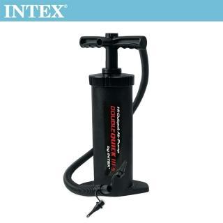 【INTEX】手壓充氣幫浦/打氣筒_快速三代-高37cm(68605)