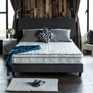 【obis】Julia三線3M防潑水蜂巢乳膠獨立筒床墊-雙人5*6.2尺23cm