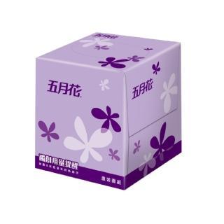 【MAY FLOWER 五月花】盒裝面紙-方盒直立式(108抽*60盒)