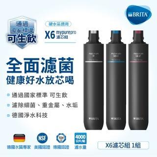 【BRITA】mypure pro X6 濾芯組