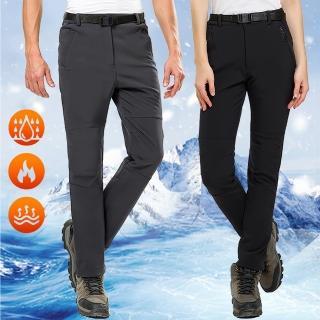 【NEW POWER】戶外頂級禦寒刷絨男女保暖衝鋒褲-6色可選(防潑水/刷絨保暖/頂級版)