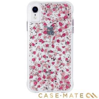 【美國 CASE-MATE】iPhone XR Karat Petals(細緻碎花防摔手機保護殼 - 粉色)