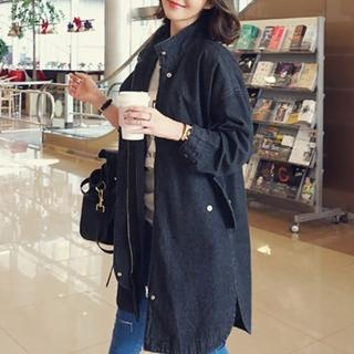 【MsMore】韓國東大門學院BF風牛仔外套*#103124(2色)