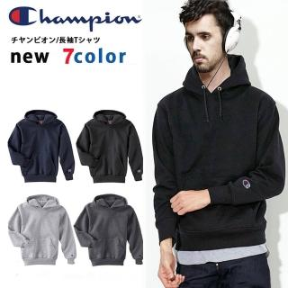 【Champion】美規冠軍CHAMPION HOODIE連帽T恤 高磅刷毛 潮牌素面