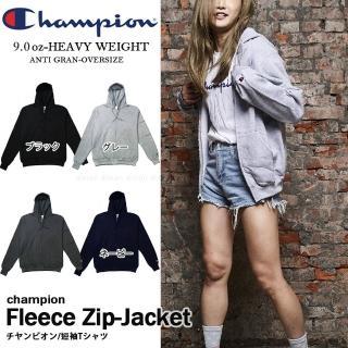【Champion】美規CHAMPION ZIP HOODIE重磅拉鍊連帽外套 抗寒流刷毛