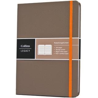 【Collins】Legacy系列-A5淺咖啡 CL53BN-03(橫線內頁)