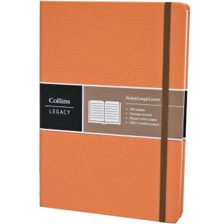 【Collins】Legacy系列-A5淺橘 CL53BN-04(橫線內頁)