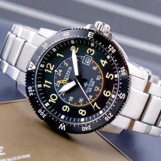 【CITIZEN 星辰】Eco-Drive 無邊無際光動能腕錶(BJ7094-59E)