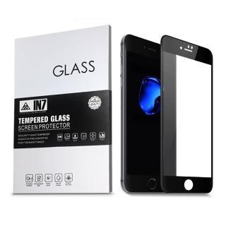 【IN7】APPLE iPhone 7/8 Plus 5.5吋 高透光 2.5D滿版鋼化玻璃保護貼(疏油疏水 鋼化膜)