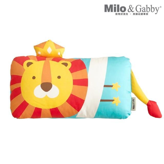 【Milo&Gabby】動物好朋友-可水洗防蹣mini幼童枕心+枕套組-1歲以上(多款任選)