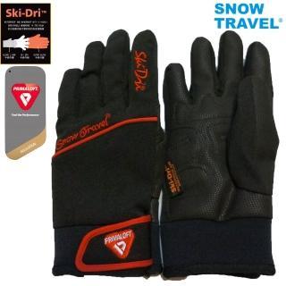 【SNOW TRAVEL】AR-67軍用primaloft-gold+特戰SKI-DRI防水保暖合身型手套(雪地/戶外/旅遊/冬季活動)