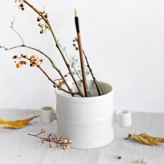 【TALES 神話言】國寶雅翫-嘉量成器 白瓷(文創 禮品 禮物 收藏)