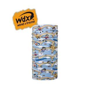 【Wind x-treme】兒童哆啦A夢多功能頭巾 COOL Wind(多樣穿戴方式、防紫外線、抗菌、吸濕快乾)