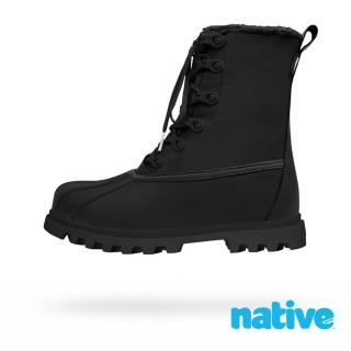 【native】JIMMY 3.0 TREKLITE 男/女靴(時尚黑)