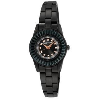 【JILL STUART】Prism Mini系列晶鑽時尚錶款(黑 JISILDJ002)