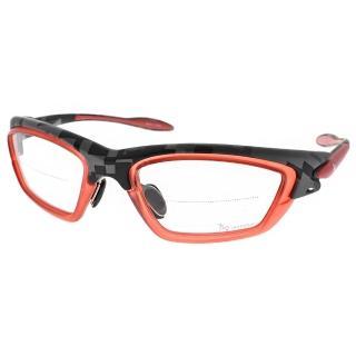 【720 armour】運動光學風鏡眼鏡(紅-方格灰#720T209RX C08)