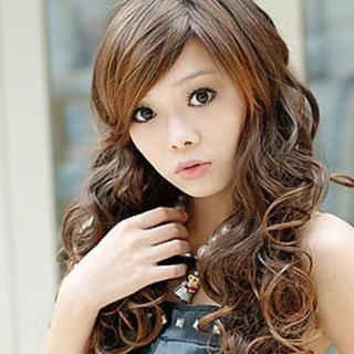 【Beeshop】魔女QQ卷長捲髮(P5009)