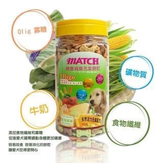【MATCH】健康消臭元氣餅乾(350g 寡糖添加 促進腸胃功能 減少便臭)