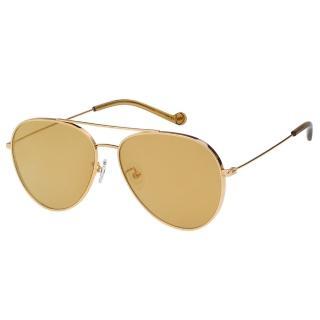 【VEDI VERO】飛官款 純鈦 太陽眼鏡VJ177(金色)