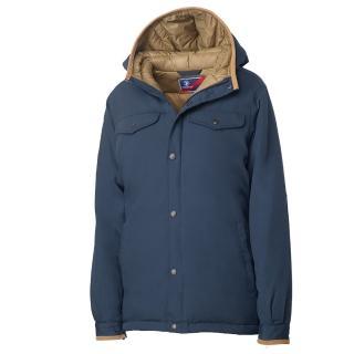 【Wildland 荒野】女鵝絨700FP防潑水極暖外套(藍色)