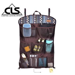 【SELPA】民族風多功能收納置物袋/露營/野餐