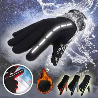 【Reddot】升級版防潑水保暖反光可觸屏手套