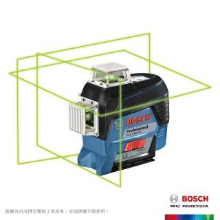 【BOSCH 博世】藍牙綠光雷射水平墨線儀(GLL 3-80 CG)