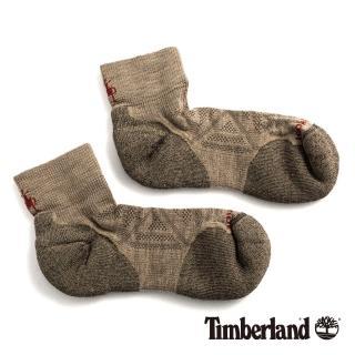 【Timberland】男款米色低筒襪(01066241)