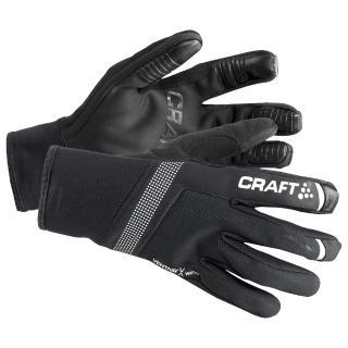 【CRAFT】SHELTER 防風手套 1904452 黑色(防風 防潑水 瑞典 刷毛 觸控)