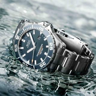 【MIDO 美度】Ocean Star 海洋之星 水鬼 深潛600米陶瓷潛水錶(M0266081104100)