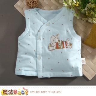 【魔法Baby】嬰幼兒外套 秋冬鋪棉厚背心外套(k60785)