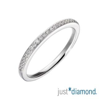 【Just Diamond】18K金線戒 鑽石戒指-Only You