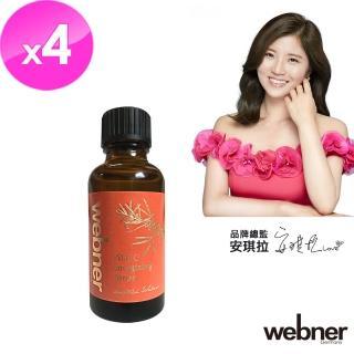 【Webner 葦柏納】沙棘保濕潤澤化妝水30ml(4入組)