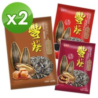 【盛香珍】豐葵香瓜子重量包3kgX2袋組(焦糖/日月潭紅茶/桂圓紅棗風味
