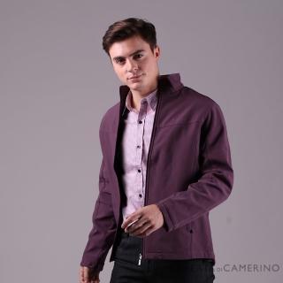 【ROBERTA 諾貝達】都會機能 輕薄防潑水夾克外套(紫色)